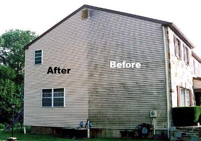 Northcoast painting and pressure washing akron canton - How to clean house exterior before painting ...